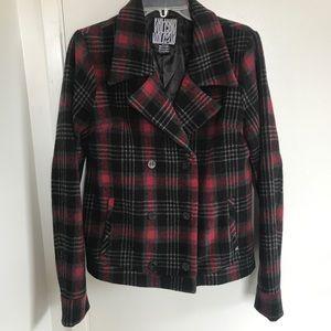 Billabong plaid jacket